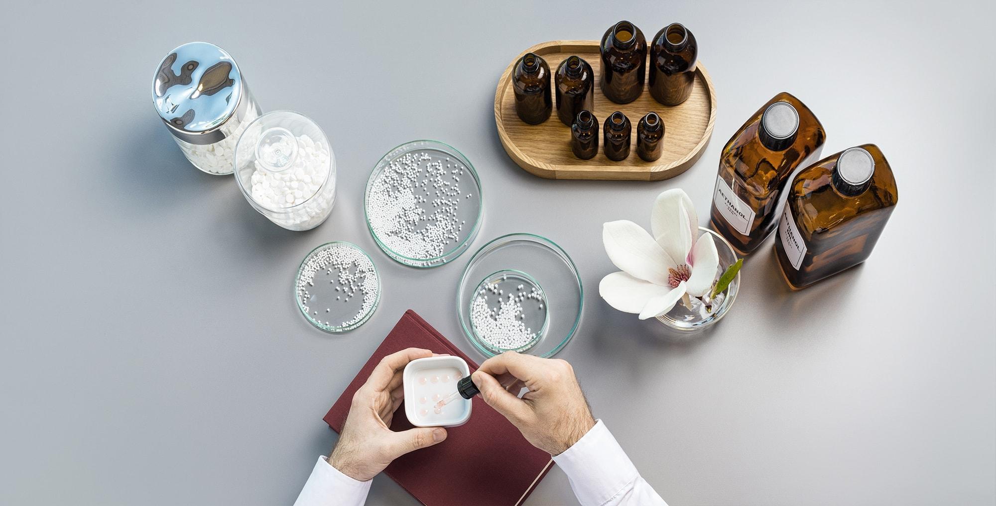 Homöopathie, Handwerk, Impressionen, Schüssler Salze,