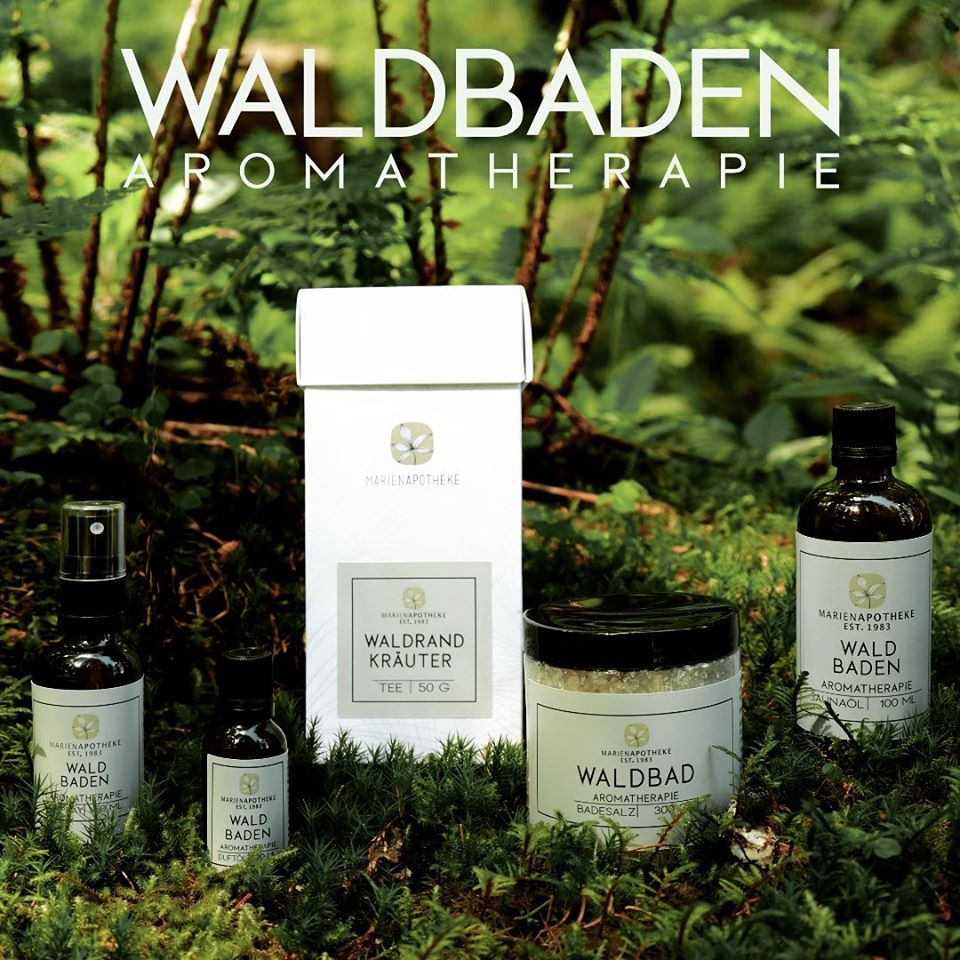Waldbaden Aromatherapie