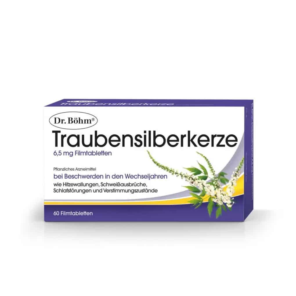 Dr.Böhm Traubensilberkerze Filmtabletten