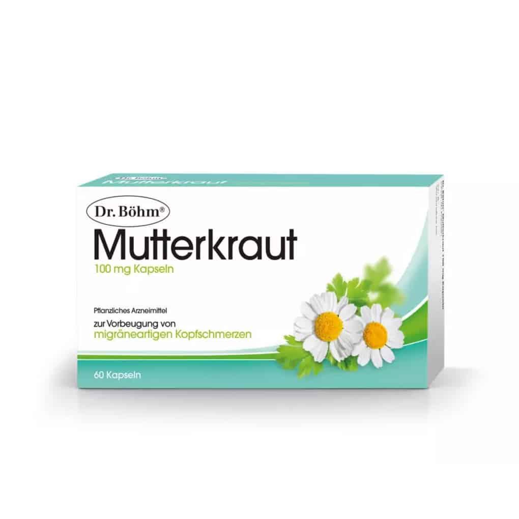 Dr.Böhm Mutterkraut Kapseln