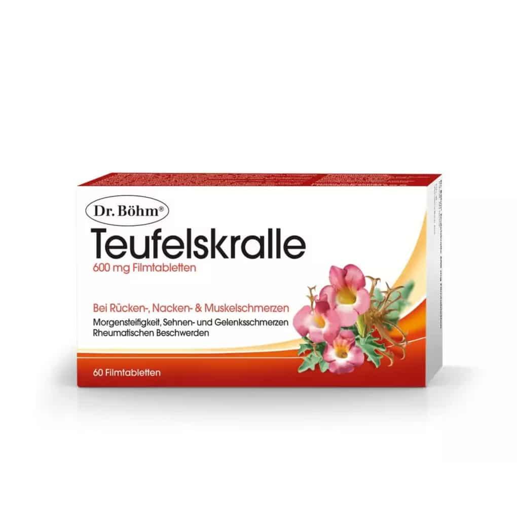 Dr.Böhm Teufelskralle Filmtabletten