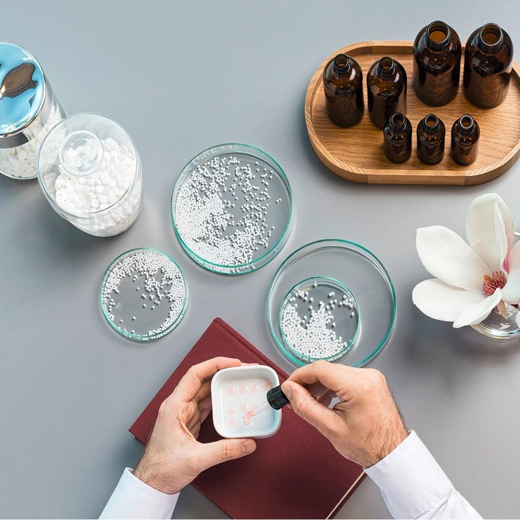 Homöopathie, Schüssler Salze Herstellung