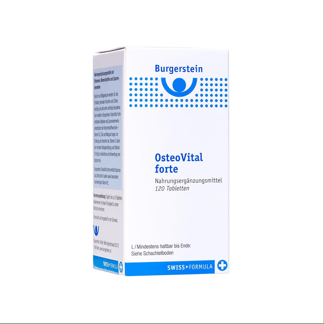 Burgerstein Osteo vital Forte Tabletten