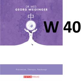 """W40 """"IRRAD"""" Dr.Weidinger Granulat"""