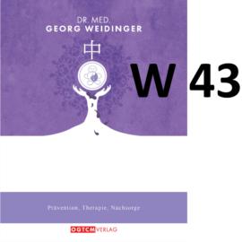 """W43 """"Tamox-Hitze-Ausgleichsformel"""" Dr.Weidinger Granulat"""