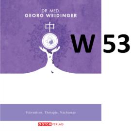 """W53 """"Blase/Niere gegen Hitze,Toxine und Blut-Stagnation"""" Dr.Weidinger Granulat"""