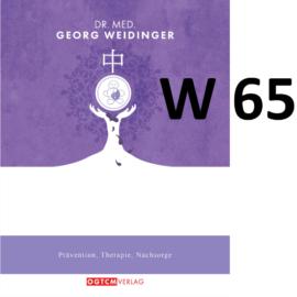 """W65 """"Detox der Haut"""" Dr.Weidinger Granulat"""