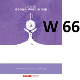 """W66 """"Obere-Knoten-Lösung"""" Dr.Weidinger Granulat"""
