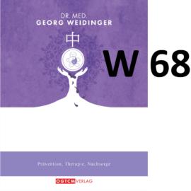 """W68 """"Gegen Hitze und Schmerz tief in der Nacht"""" Dr.Weidinger Granulat"""