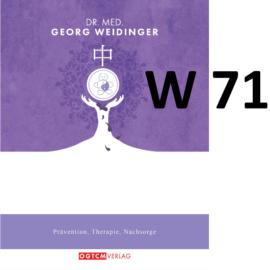 "W71 ""Plättchen hoch, Blutung stop!"" Dr.Weidinger Granulat"