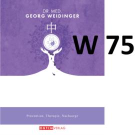 W75 Kopfdruck weg Dr.Weidinger Granulat