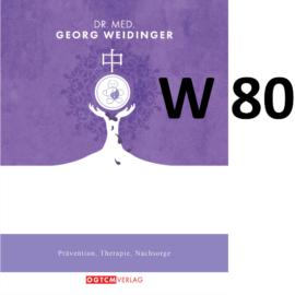 W80 Ecdyson-Modul 4 Feuchtigkeit beseitigen Dr.Weidinger Granulat