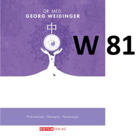 W81 Ecdyson-Modul 5 Toxine ausscheiden Dr.Weidinger Granulat