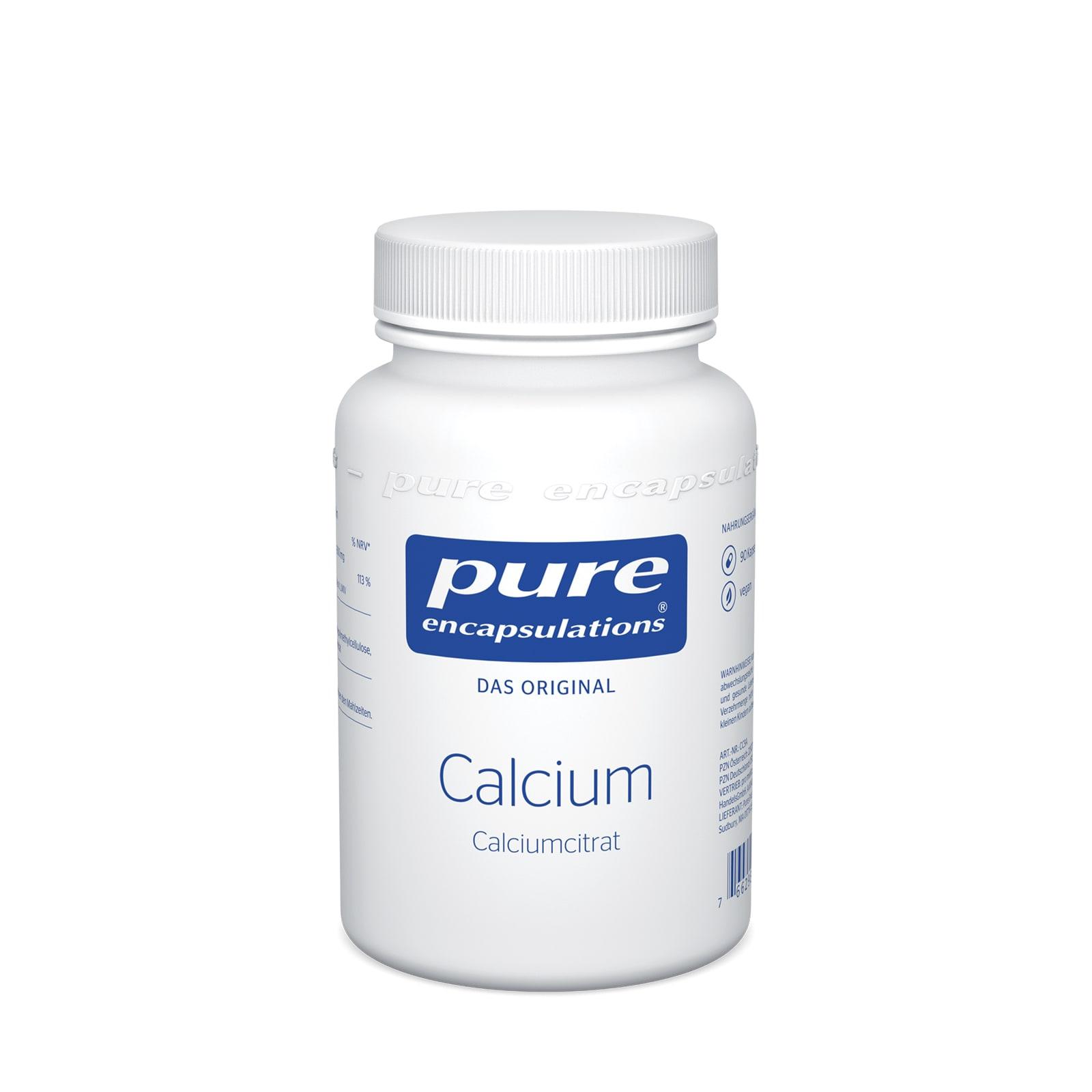 Pure Encapsulations Calciumcitrat