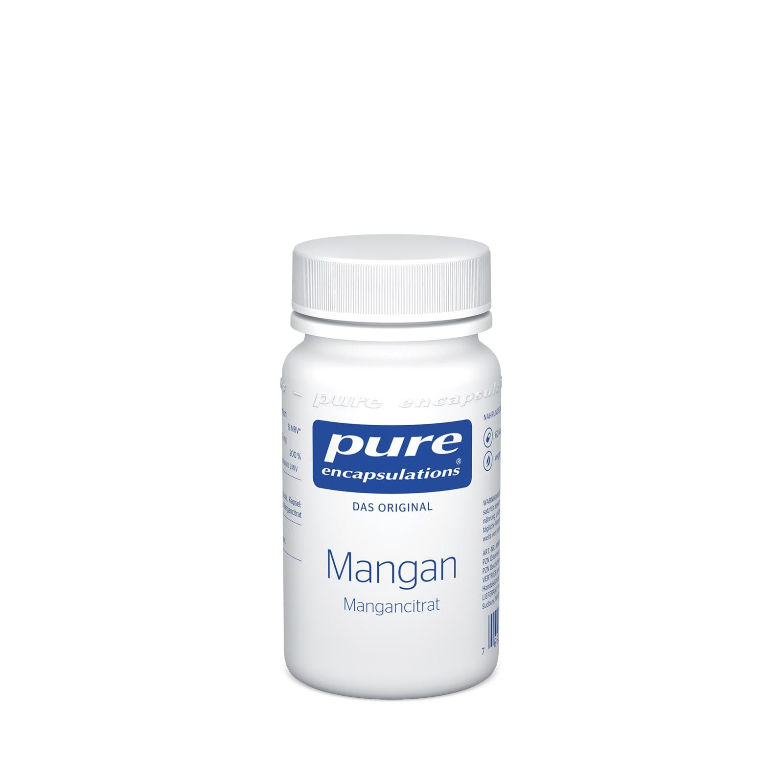 Pure Encapsulations Mangan Kapseln