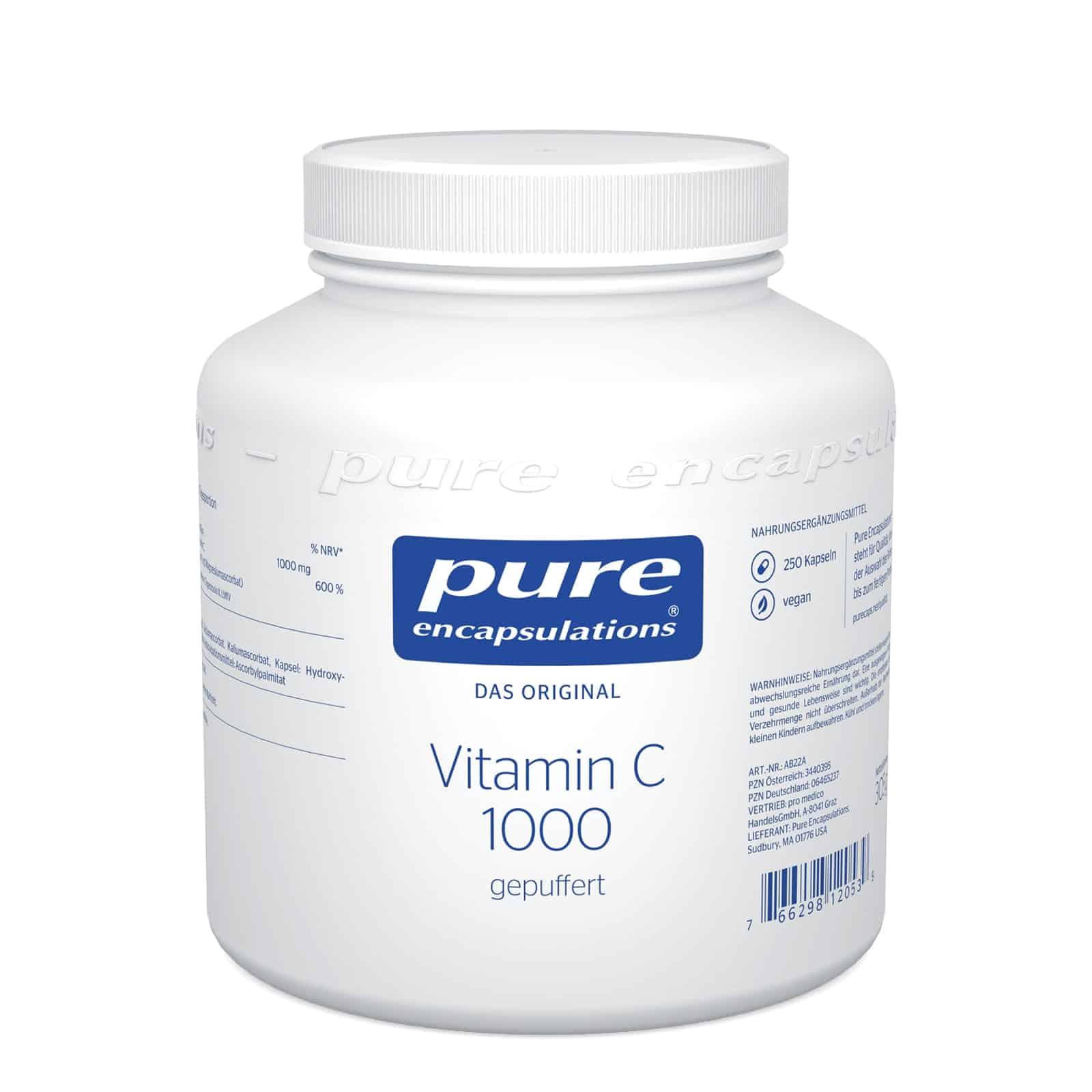 Pure Encapsulations Vitamin C 1000 gepuffert Kapseln