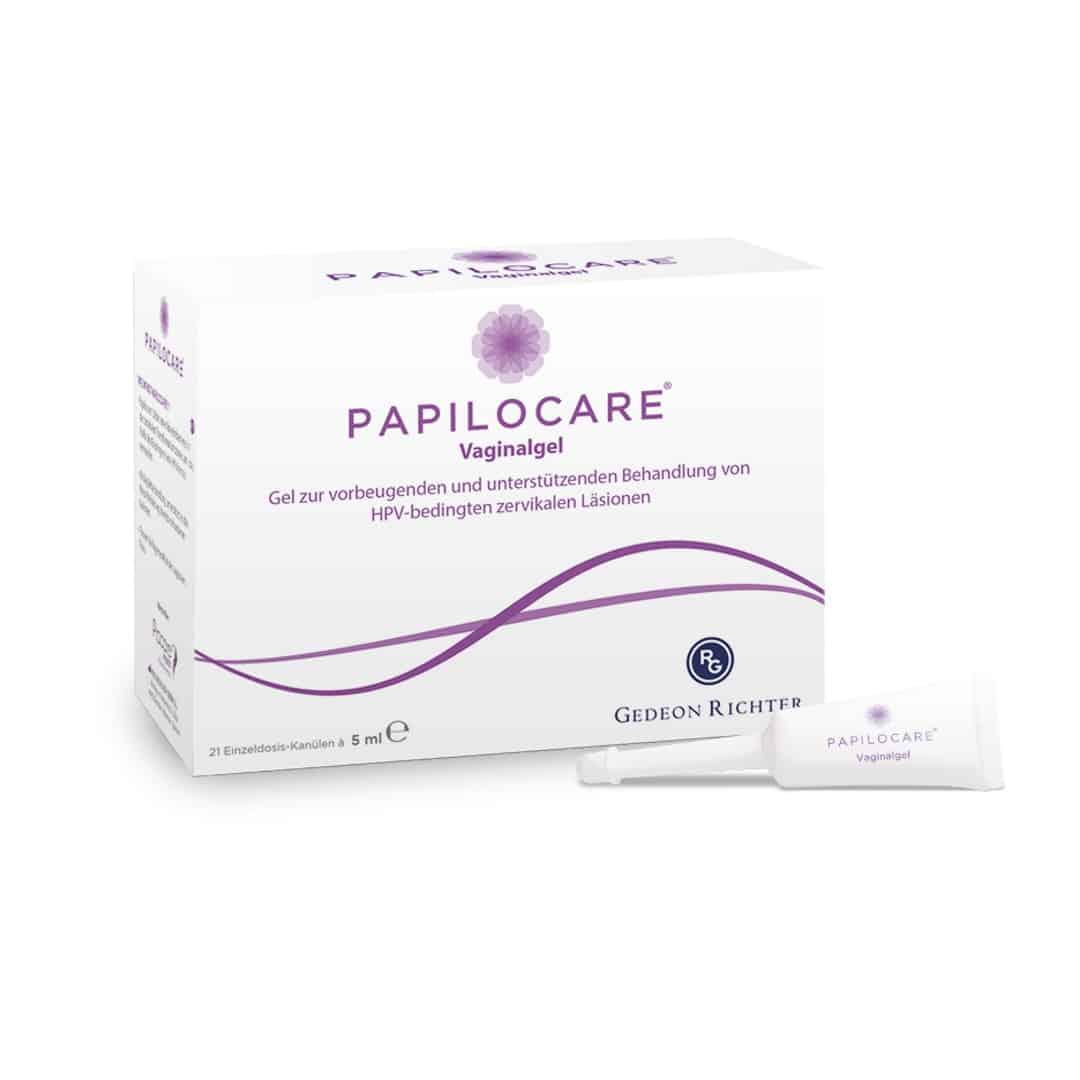 Papilocare Vaginalgel 21 Stück